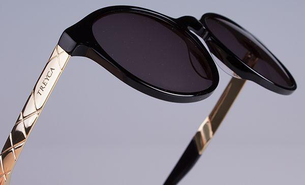 Treyca 18 carat gold plated sunglasses. #Treyca #Sunglasses