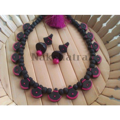 Terracotta Jewelry  necklace set