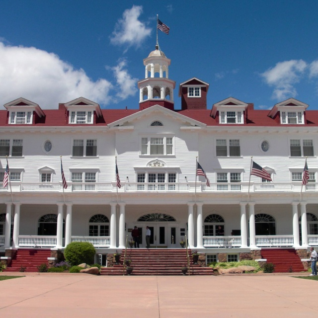 The Stanley Hotel in Estes Park Colorado. One of the most haunted places in the world.