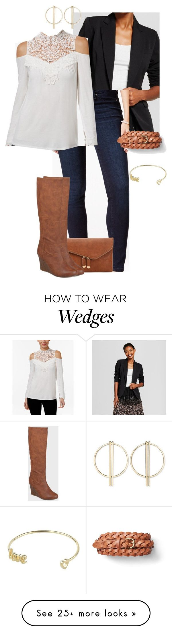 """""""Lauren B."""" by mloveless-1 on Polyvore featuring Thalia Sodi, Urban Expressions and Journee Collection"""
