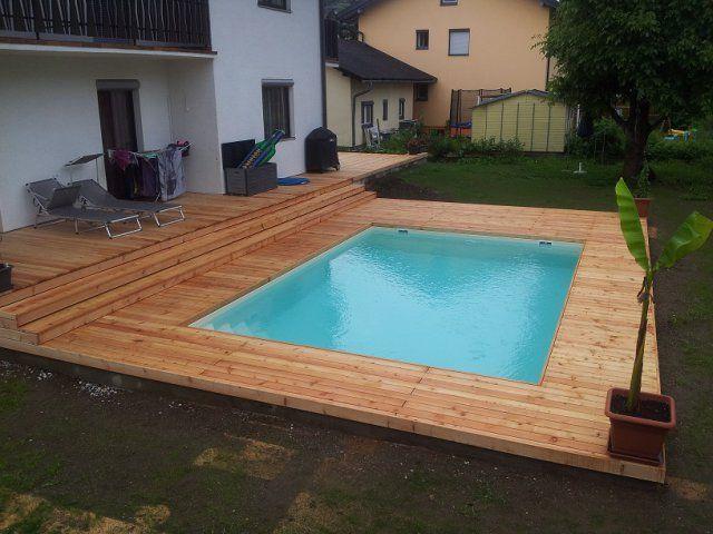 Rechteckiges Styropor Pool Styropor Pool Pool Umrandung Pool Rechteckig