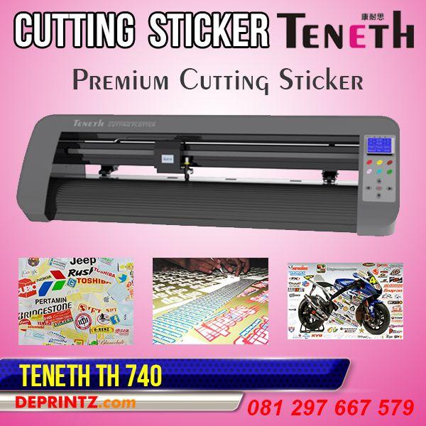 Mesin Cutting Sticker TENETH merupakan Produk Mesin Cutting Sticker yang sedang banyak dicari orang. Memiliki tampilan Fisik yang Elegan, yang terbuat dari Metal Aluminium sehingga Kokoh dan Bagus. Mesin Cutting Sticker TENETH TH 740 memiliki Lebar Area Kerja 74 cm, sehingga cocok untuk Pengerjaan Cutting Sticker yang kecil2 hingga ukuran sedang.  Harga PROMO : Rp. 6.499.000,-
