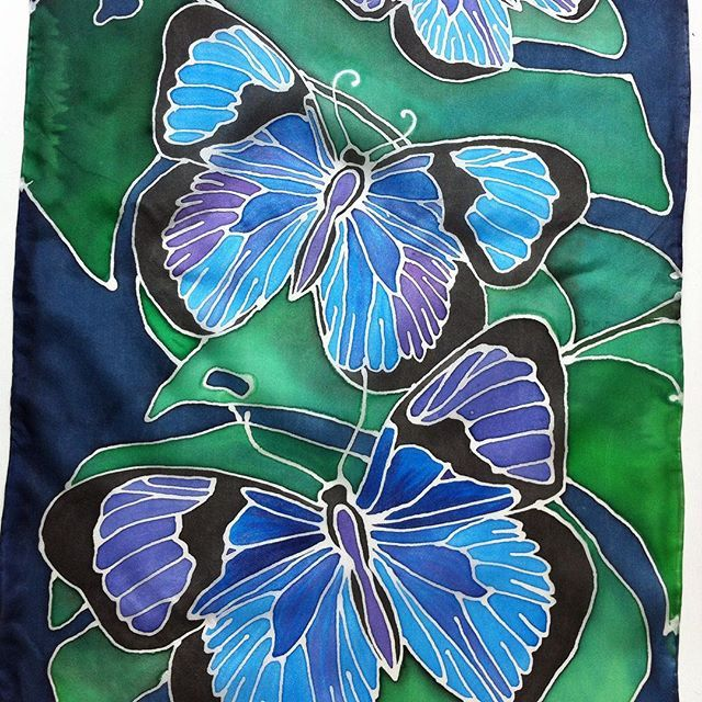 18 Best Images About HAND PAINTED FABRIC On Pinterest