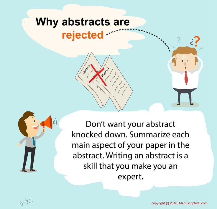 how to write an anstract journal