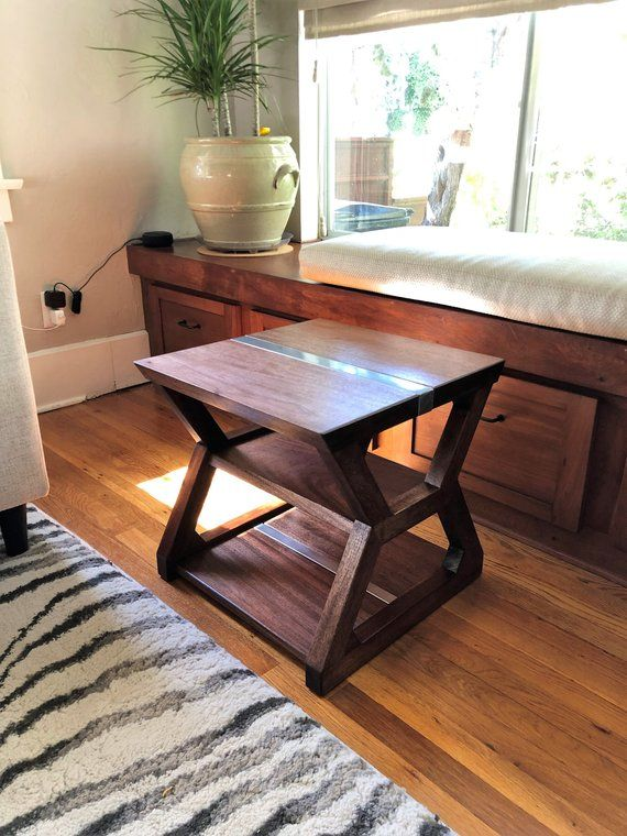 Modern End Table Living Room Side Table Handmade Office Sofa