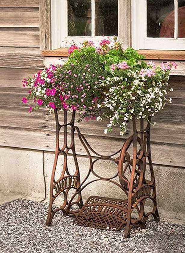 Vintage Garden Decor Kreative Ideen_41