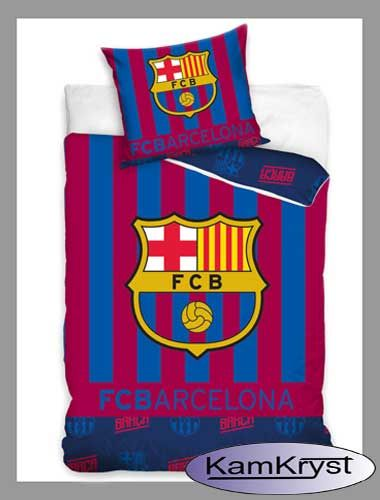 Pościel FC Barcelona - dla fanów katalońskiego klubu z Barcelony