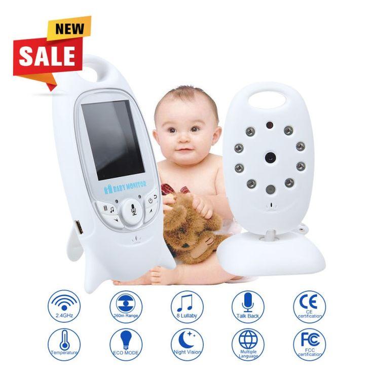 (38.47$)  Watch here  - Infant 2.4GHz Wireles Baby Radio Babysitter Digital Video Baby Monitor Audio Night Vision Music Temperature Display Radio Nanny