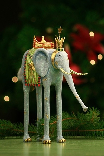 Krinkles by Patience Breswter 09 We Three Kings Elephant