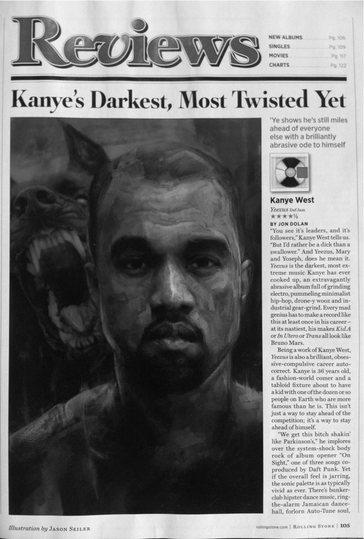 kanye west - yeezus review