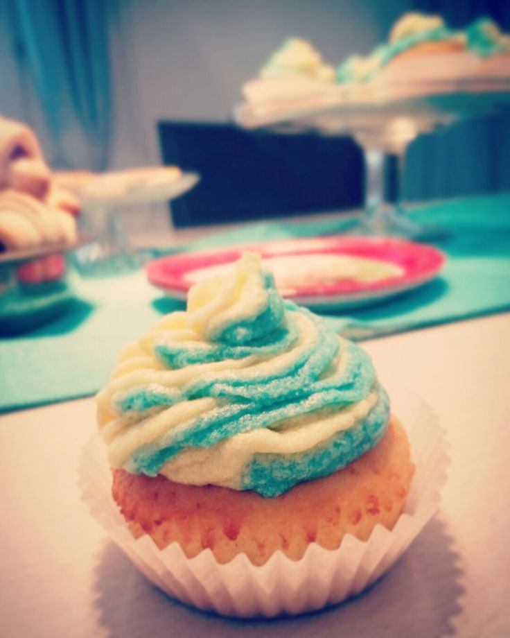 Lemon cupcake  Sitruuna kuppikakku