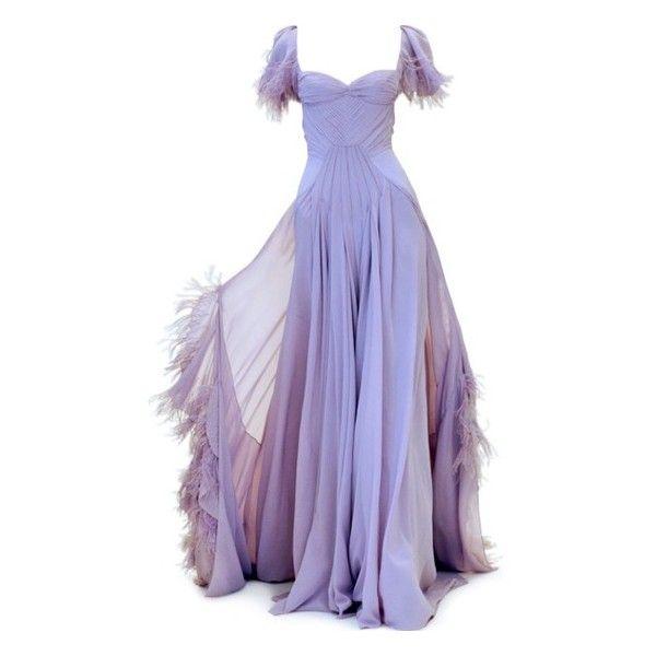 Flirty Frocks ❤ liked on Polyvore featuring dresses, gowns, long dresses, purple, vestidos, purple evening gown, purple gown, purple ball gown and purple dress