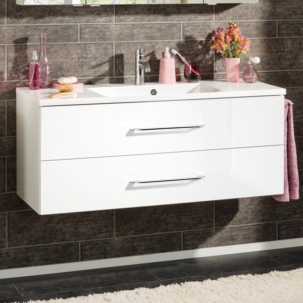 B.Clever 120cm Wall Mounted Vanity Unit