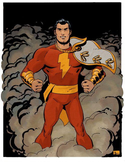 Capitão Marvel por Evan Shaner