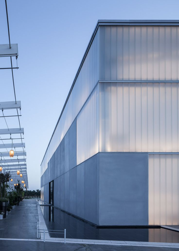 Architectural Translucent Panels : Lago events hall by pitsou kedem in rishon lezion israel