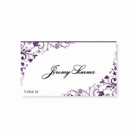 Place Cards Template Wedding Unique Instant Download Wedding Place Card By Diyweddingtempla Place Card Template Wedding Name Cards Wedding Place Card Templates
