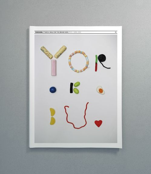Art direction of YOROKOBU, a magazine about design, advertising and communication.