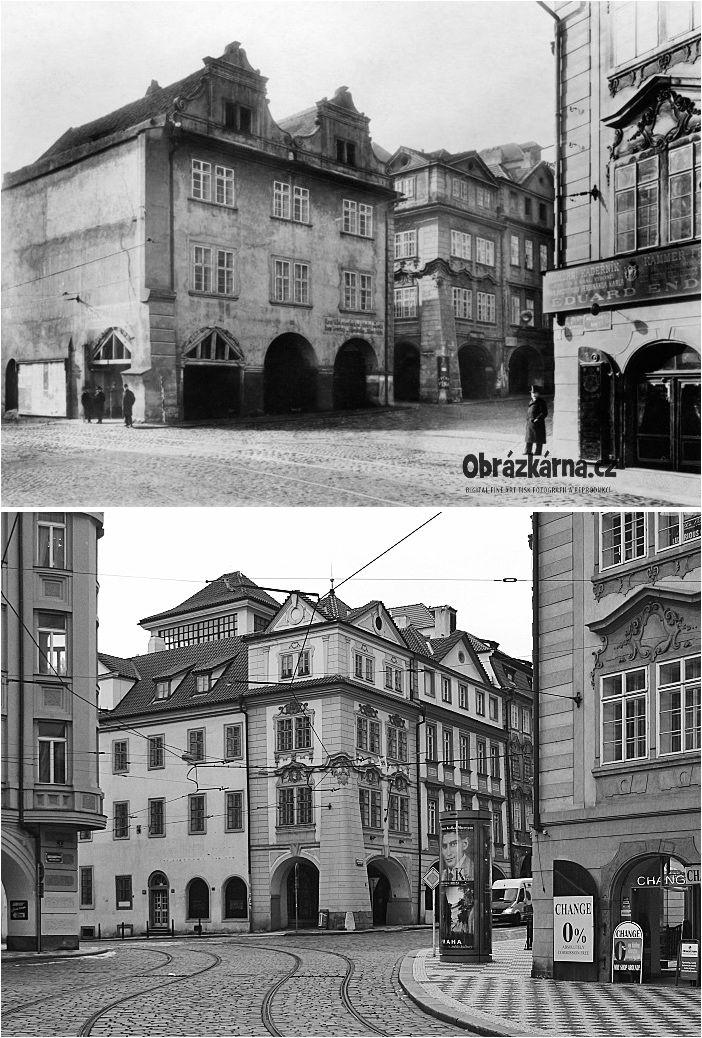 Malostranské náměstí 1900