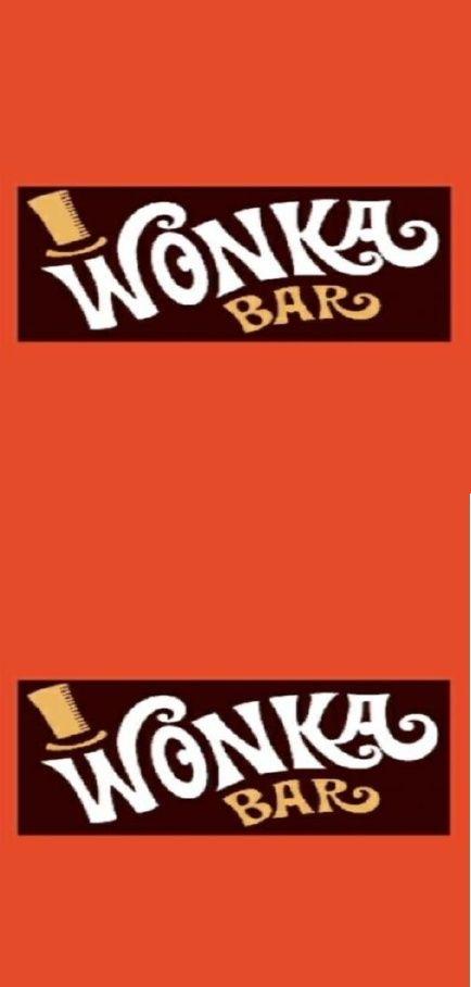 Free Printable Wonka Bar Wrappers