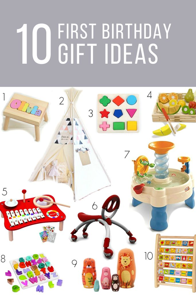 First Birthday Gift Ideas For Girls Or Boys For The Kids