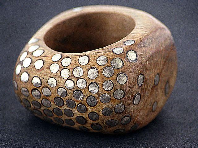 Juriy Bylkov -   Ring - Silver Wood