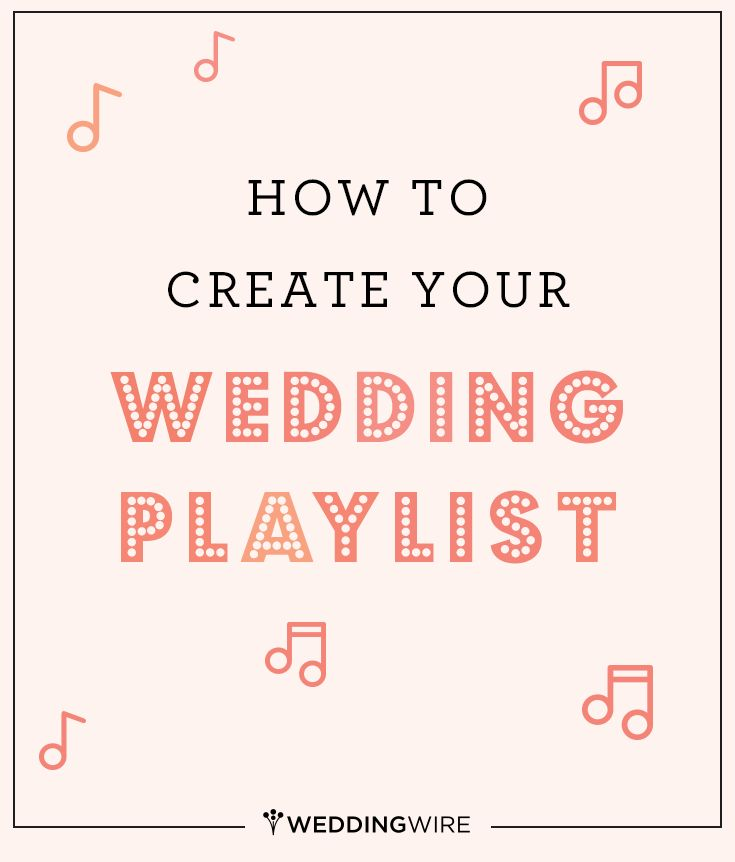 Our Top Tips For Creating The Right Playlist Your Wedding Day