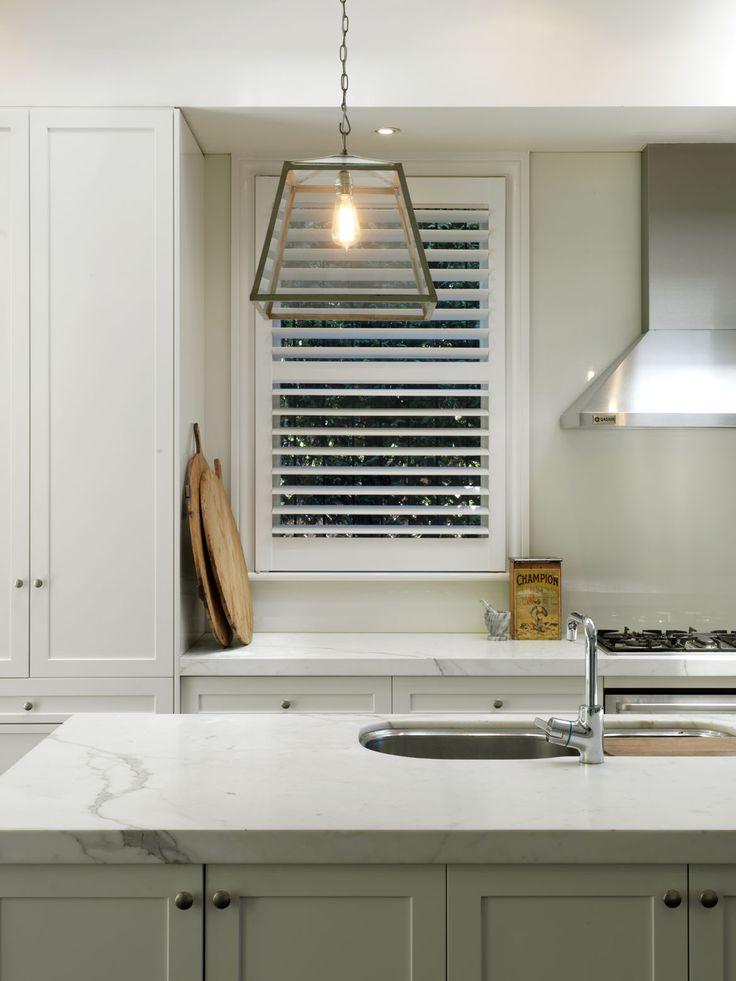 BELLEVUE ABODE   alwill  #interiors #kitchen #marble #pendant