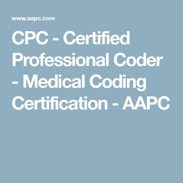 Best 25+ Certified professional coder ideas on Pinterest Medical - certified coder resume