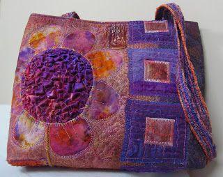 Linda Stokes Textile Artist Gorgeous colors. www.rightnowredesign.com