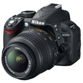 Nikon D3100, 14.2MP + Obiectiv 18-55mm VR - eMAG.ro
