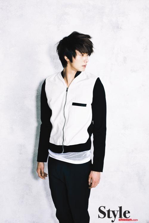 Jung Il Woo - Style Chosun Magazine 2011