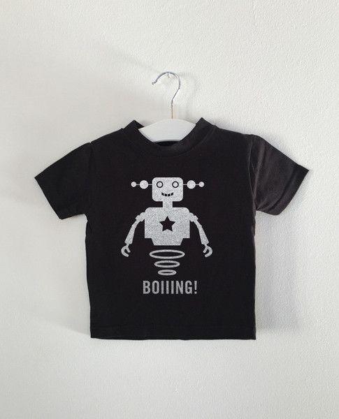 BOIIING! Robot tee