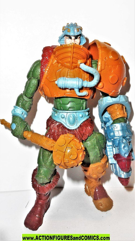 Masters Of The Universe Man At Arms 2002 Complete Motu He Man Action Figures In 2020 Action Figures Masters Of The Universe Superman Action Figure