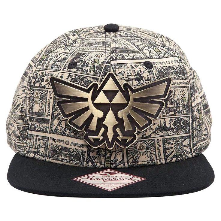 """Cappellino con visiera """"Storyboard di Zelda"""" di The Legend of Zelda."""
