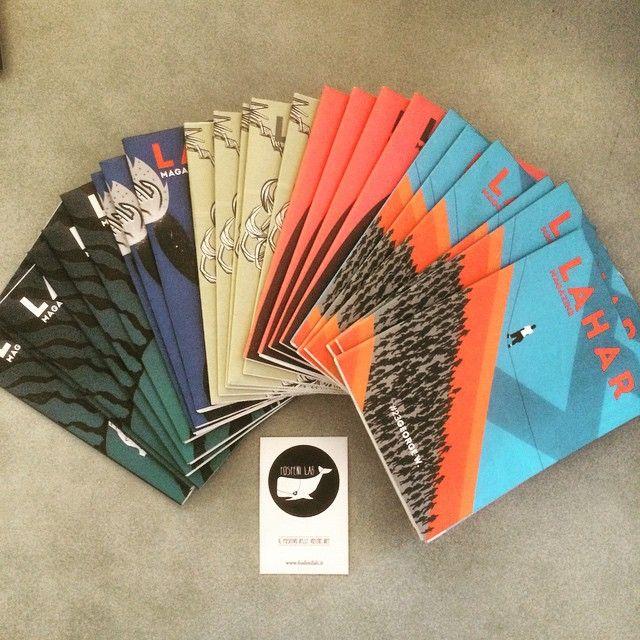 Gli amici di @laharmagazine ci hanno portato qualche numero in studio, venite a prendere la vostra copia! #laharmagazine #FollowTheWhale