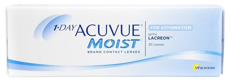 1 - Day Acuvue moist for astigmatism contact lenses by johnson and johnson. Acuvue for Astigmatism is daily disposable lenses uses for overcoming astigmatism, Book My Lenses sells all kinds of contact like Johnson and Johnson Acuvue.