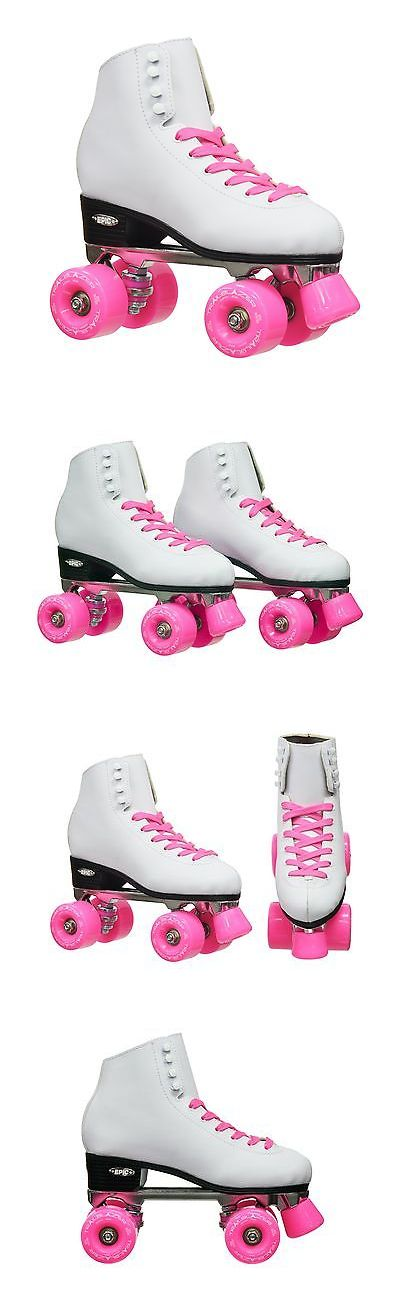 Women 16261: Epic Skates 2016 Epic Classic 5 High-Top Quad Roller Skates With Pink Wheels ... -> BUY IT NOW ONLY: $145.77 on eBay!