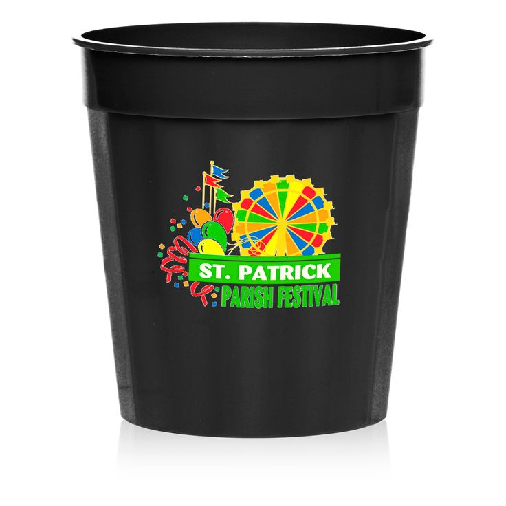 Order 100 for Enoch Elisha and keep 10 at home . keep the remainder in storage.  Use the EnochElisha logo as white on black.  Customized Stadium Cups, Fluted Stadium Cups, Plastic Cups, Free Shipping