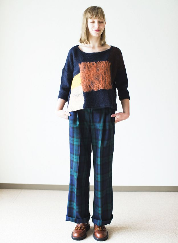 SINDEE 14A/W 「NEEDLE TOP」