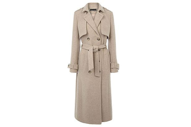 A mac style coat to look the part this winter.