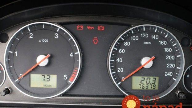 Jednoduchý trik odhalí skutočný počet najazdených kilometrov auta!