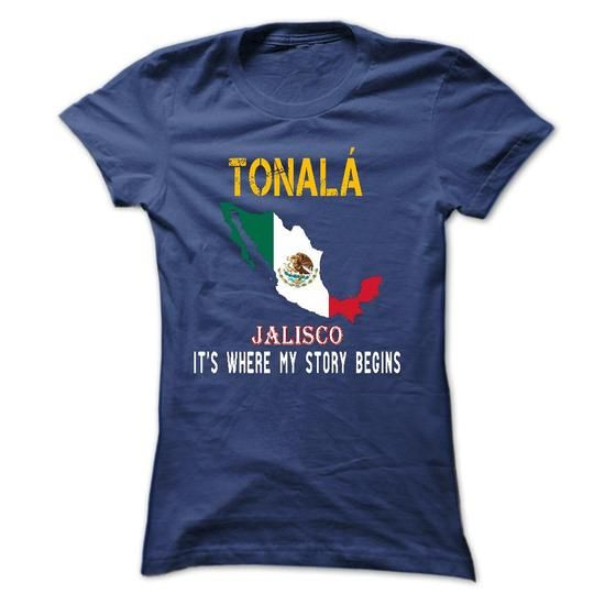 TONALA - Its Where My Story Begins! - #T-Shirts #mens hoodie. PRICE CUT => https://www.sunfrog.com/States/TONALA--Its-Where-My-Story-Begins-60702985-Ladies.html?60505