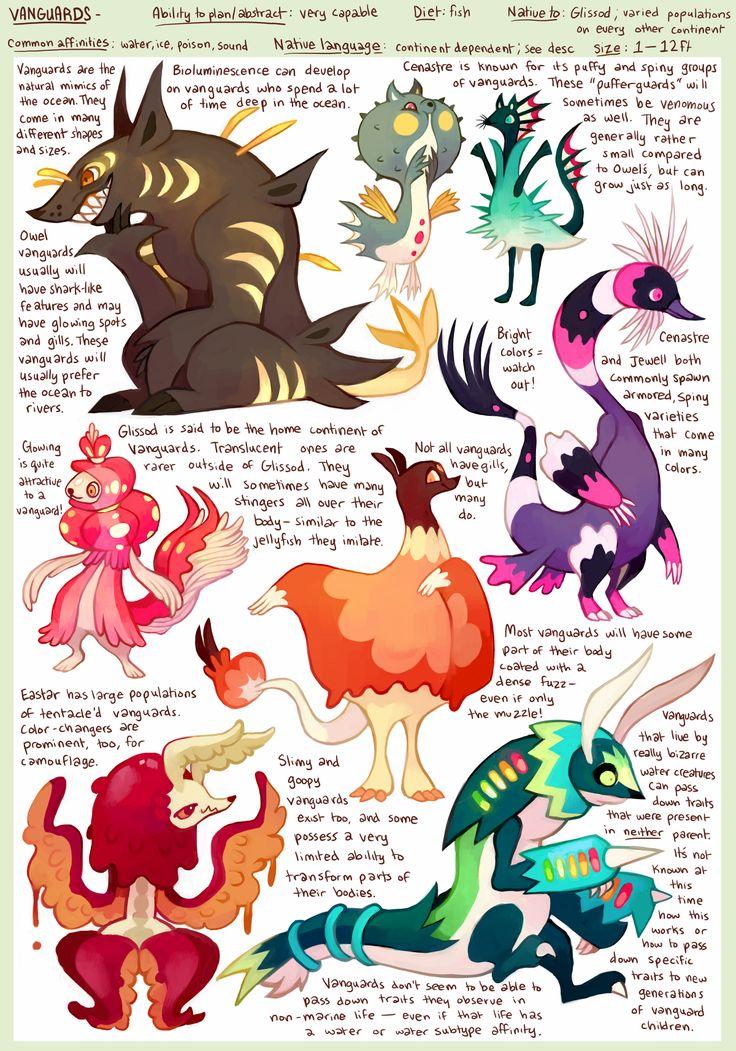 Species - Vanguards by purplekecleon.deviantart.com on @DeviantArt