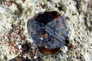 Gem Hunting in Central Texas Almanite Garnet