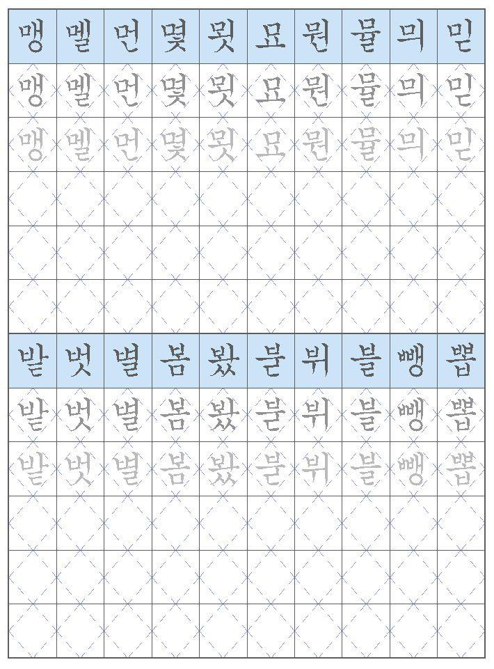 korean essay format