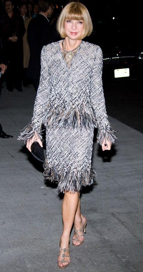 ファッション業界トップ!アナウィンター|名言・娘・ネックレス・髪型 | 美人部
