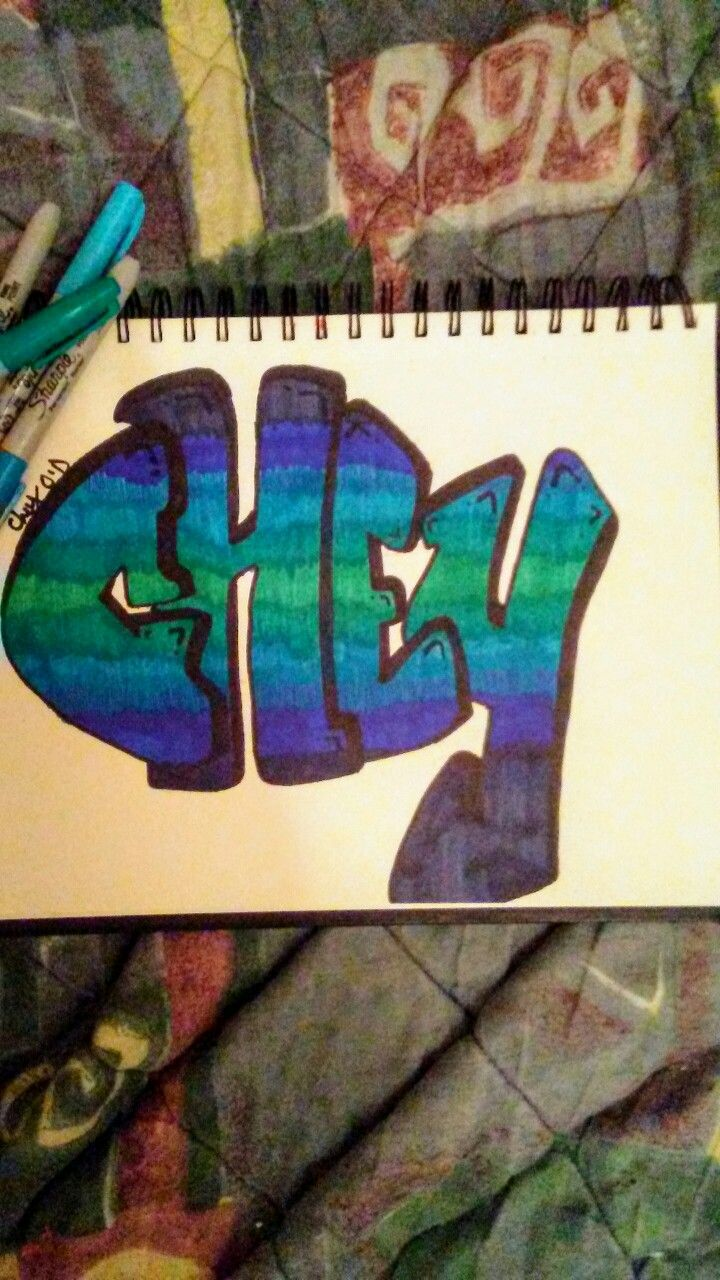 My Nickname Chey Done In Graffiti ✔