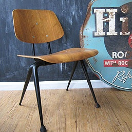 Mid-Century Eames DCM Chair - Replica at Three Potato Four