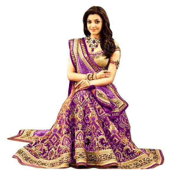 Buy Exclusive Designer Purple Embroidered Georgette Lehenga Choli Online at cheap prices from Shopkio.com: India`s best online shoping site