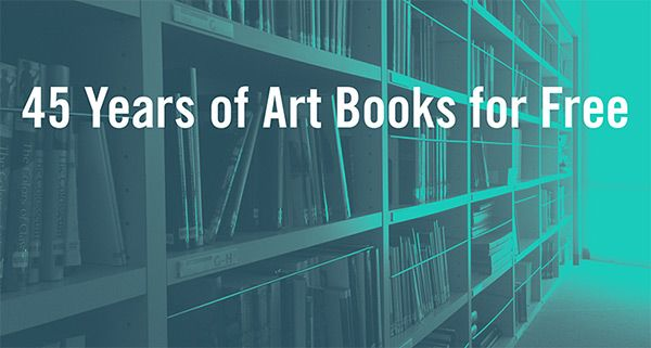 45 years of art books for free - Getty Publications Virtual Library